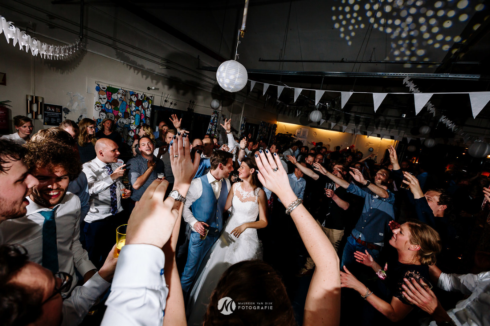 Huwelijksfeest, Stadslab Indië Almelo, Bruidsfotograaf Twente